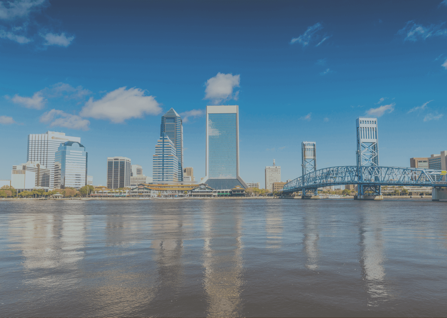 A coastline view of Jacksonville