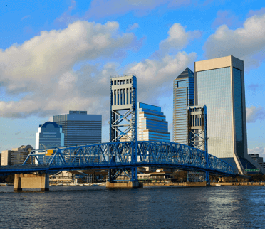 The city of Jacksonville